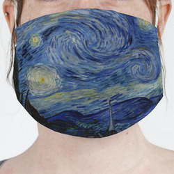 The Starry Night (Van Gogh 1889) Face Mask Cover