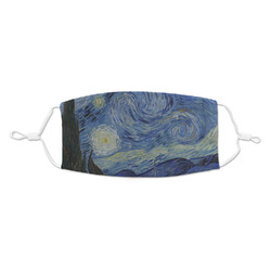 The Starry Night (Van Gogh 1889) Kid's Cloth Face Mask