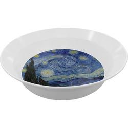The Starry Night (Van Gogh 1889) Melamine Bowls