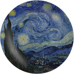 The Starry Night (Van Gogh 1889) Melamine Plate
