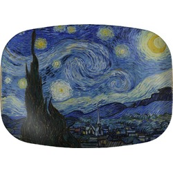 The Starry Night (Van Gogh 1889) Melamine Platter