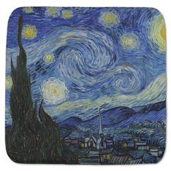 "The Starry Night (Van Gogh 1889) Memory Foam Bath Mat - 48""x48"""