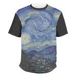 The Starry Night (Van Gogh 1889) Men's Crew T-Shirt