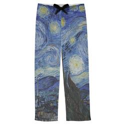 The Starry Night (Van Gogh 1889) Mens Pajama Pants