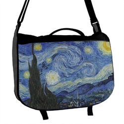 The Starry Night (Van Gogh 1889) Messenger Bag