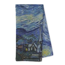 The Starry Night (Van Gogh 1889) Microfiber Kitchen Towel