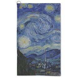 The Starry Night (Van Gogh 1889) Microfiber Golf Towel - Large