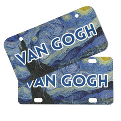 The Starry Night (Van Gogh 1889) Mini/Bicycle License Plates