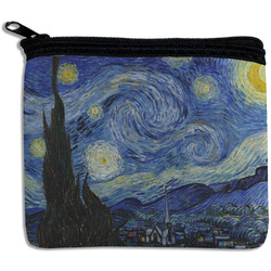 The Starry Night (Van Gogh 1889) Rectangular Coin Purse