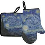 The Starry Night (Van Gogh 1889) Oven Mitt & Pot Holder