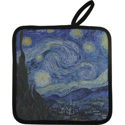 The Starry Night (Van Gogh 1889) Pot Holder