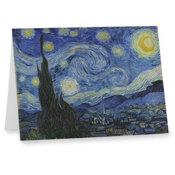 The Starry Night (Van Gogh 1889) Notecards