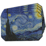 The Starry Night (Van Gogh 1889) Dining Table Mat - Octagon