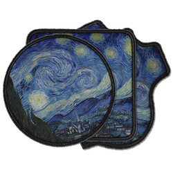 The Starry Night (Van Gogh 1889) Iron on Patches
