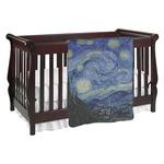 The Starry Night (Van Gogh 1889) Baby Blanket