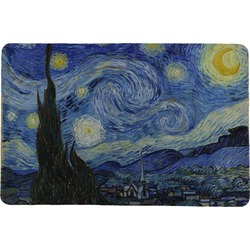 "The Starry Night (Van Gogh 1889) Comfort Mat - 24""x36"""