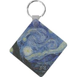 The Starry Night (Van Gogh 1889) Diamond Key Chain