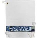 The Starry Night (Van Gogh 1889) Golf Towel