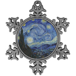 The Starry Night (Van Gogh 1889) Vintage Snowflake Ornament