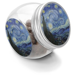 The Starry Night (Van Gogh 1889) Puppy Treat Jar