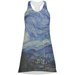 The Starry Night (Van Gogh 1889) Racerback Dress