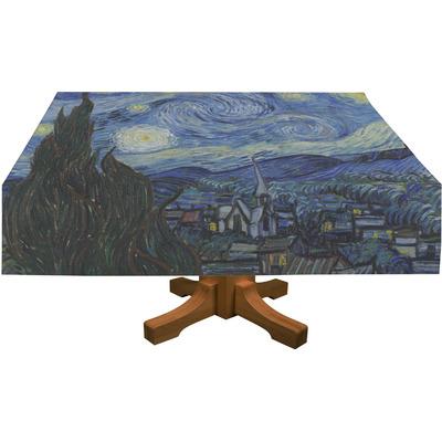 "The Starry Night (Van Gogh 1889) Tablecloth - 58""x102"""