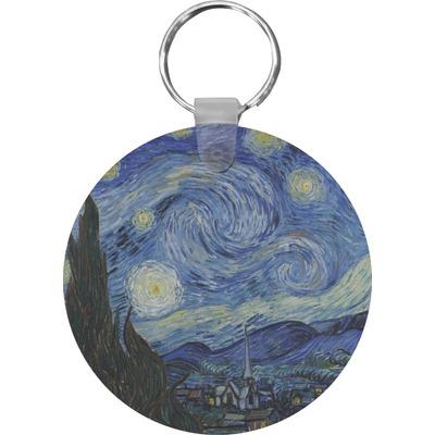 The Starry Night (Van Gogh 1889) Keychains - FRP