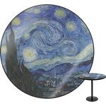 The Starry Night (Van Gogh 1889) Round Table