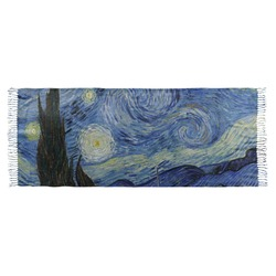 The Starry Night (Van Gogh 1889) Faux Pashmina Scarf