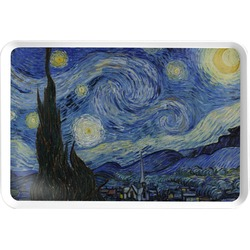 The Starry Night (Van Gogh 1889) Serving Tray