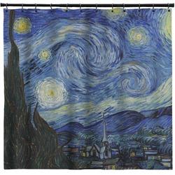 The Starry Night (Van Gogh 1889) Shower Curtain