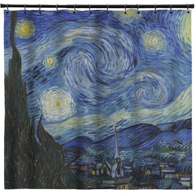The Starry Night Van Gogh 1889 Shower Curtain