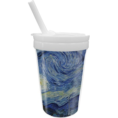 The Starry Night (Van Gogh 1889) Sippy Cup with Straw