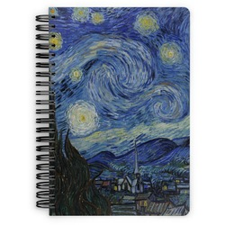 The Starry Night (Van Gogh 1889) Spiral Bound Notebook