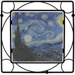 The Starry Night (Van Gogh 1889) Square Trivet