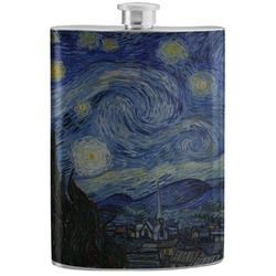 The Starry Night (Van Gogh 1889) Stainless Steel Flask