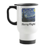 The Starry Night (Van Gogh 1889) Stainless Steel Travel Mug with Handle