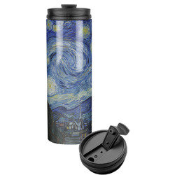 The Starry Night (Van Gogh 1889) Stainless Steel Travel Tumbler