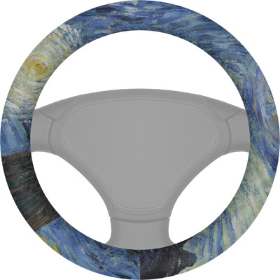 The Starry Night (Van Gogh 1889) Steering Wheel Cover