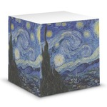 The Starry Night (Van Gogh 1889) Sticky Note Cube