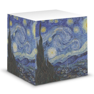 The Starry Night (Van Gogh 1889) Sticky Note Cube