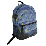 The Starry Night (Van Gogh 1889) Student Backpack