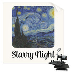 The Starry Night (Van Gogh 1889) Sublimation Transfer
