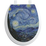 The Starry Night (Van Gogh 1889) Toilet Seat Decal