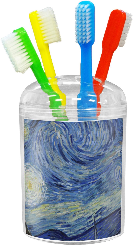 The Starry Night Van Gogh 1889 Toothbrush Holder