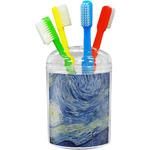 The Starry Night (Van Gogh 1889) Toothbrush Holder