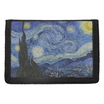 The Starry Night (Van Gogh 1889) Trifold Wallet