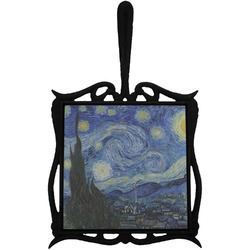 The Starry Night (Van Gogh 1889) Trivet with Handle