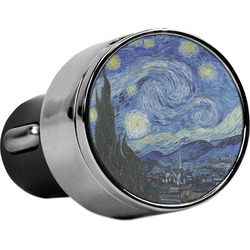 The Starry Night (Van Gogh 1889) USB Car Charger