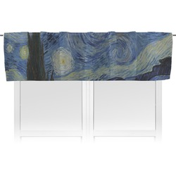 The Starry Night (Van Gogh 1889) Valance